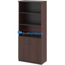 Grand Furniture DC 805 H (kabinet Tinggi Tanpa Pintu Kaca)