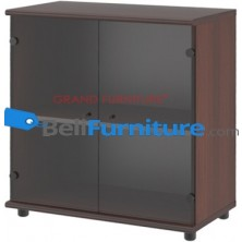 Grand Furniture DC LD 7 (Kabinet Rendah Pintu Kaca)