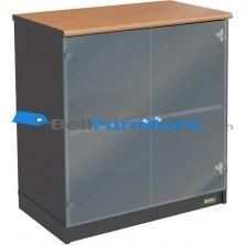 Euro DLC 8182 (Lemari Bagian Bawah Pintu Kaca)
