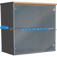 Euro DUC 8082 (Lemari Bagian atas Pintu Kaca)