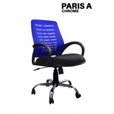 Kursi Staff/Manager Uno Paris A Chrome