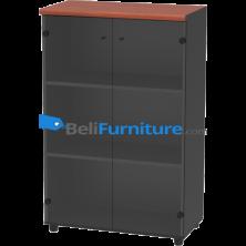 Grand Furniture LX 800 GM (Kabinet Medium Pintu Kaca)
