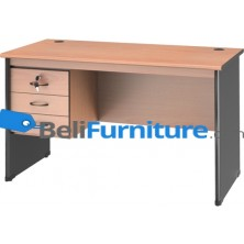 Grand Furniture NB 502 A (Meja 1/2 Biro + Kotak Laci)
