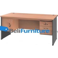Grand Furniture NB 503 S (Meja 1 Biro Super + Kotak Laci + Kotak Pintu)