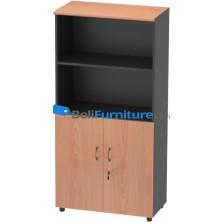 Grand Furniture NB HB 5 (Kabinet 4 Rak + Pintu Kayu Rendah)