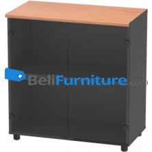 Grand Furniture NB LD 7 (Kabinet Rendah Pintu Kaca)