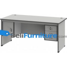 Grand Furniture ND 503 S (Meja 1 Biro Super + Kotak Laci + Kotak Pintu)