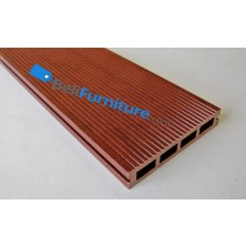 Techwood - Decking 150 Red Mahogany Front (150 x 25 x 2200mm)