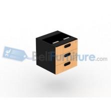 Uno Laci Gantung 3 Drawer UFD1183(grey) / UFD1133(beech)