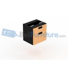 Uno Laci Gantung 2 Drawer UFD1184(grey) / UFD1134(beech)