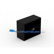 Uno Platinum Lemari Arsip 2 Rak+Pintu Kaca Tinggi 62 cm