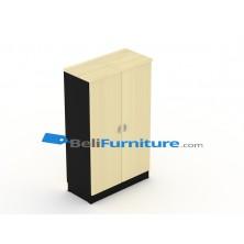 Uno Platinum Lemari Arsip 3 Rak+Afron Tinggi 132 cm Pintu Panel + Afron