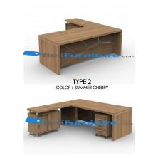 Grand Furniture VEA 2090 Type 2 (tidak termasuk meja samping dan laci sorong)
