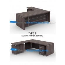 Grand Furniture VEA 2090 Type 4 (tidak termasuk meja samping dan laci sorong)
