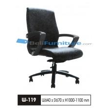 Kursi Staff/Manager Wiz W119 TC F